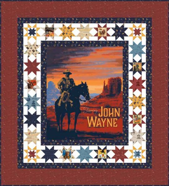 The Duke John Wayne Quilt Pattern