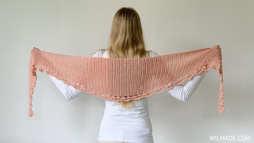 To The Point Shawl