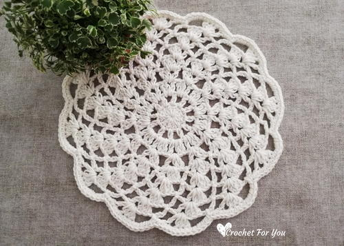 Spiral Lace Doily