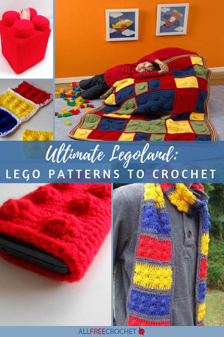 42 Best Crochet Legos images | Crochet, Crochet lego, Crochet patterns | 1102x735