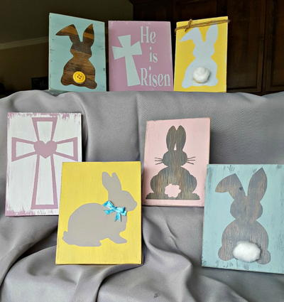Pastel Easter Wall Decor