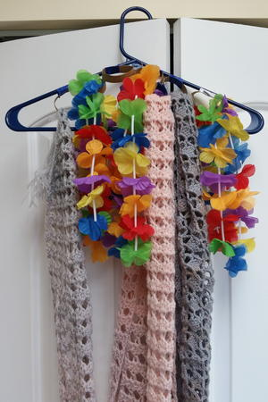 Incredibly Easy DIY Scarf Hanger