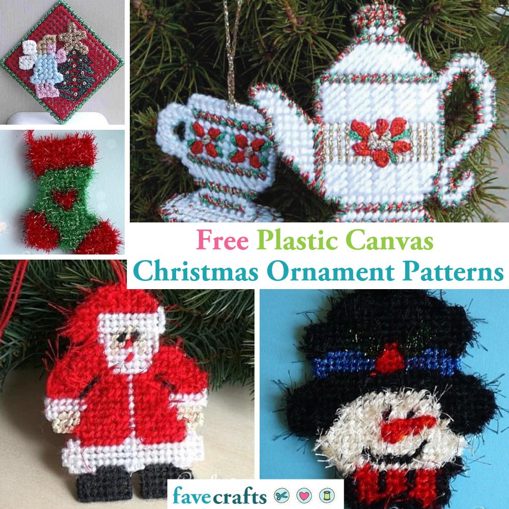 10 Free Crochet Christmas Ornament Patterns | 1000x1000