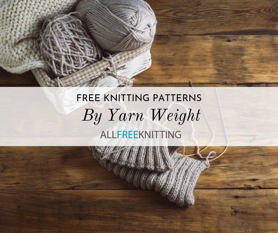 free knitting patterns aran weight yarn