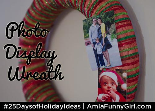 Photo Display Wreath