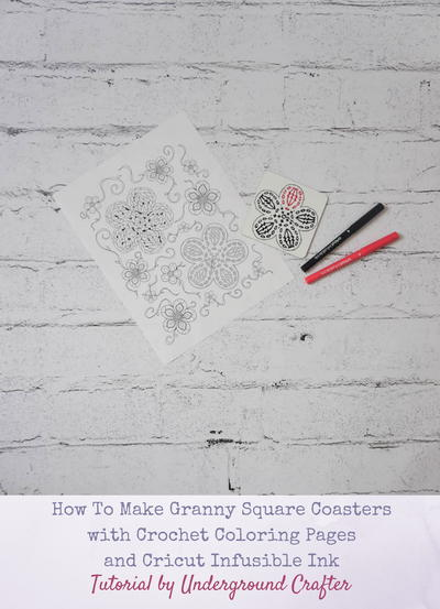 Color Your Own Coasters