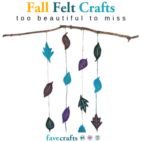 16 Fall Felt Crafts Too Beautiful to Miss