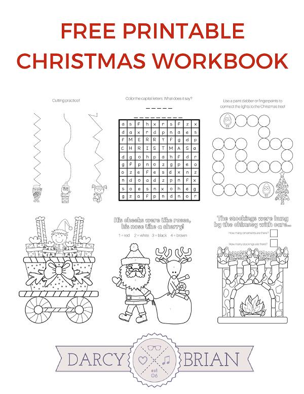 picture regarding Printable Christmas Games known as Printable Xmas Online games Coloring Workbook