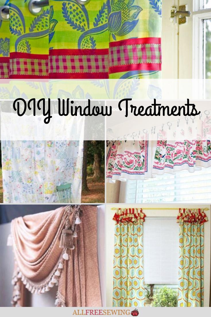 20 Diy Window Treatments Allfreesewing Com