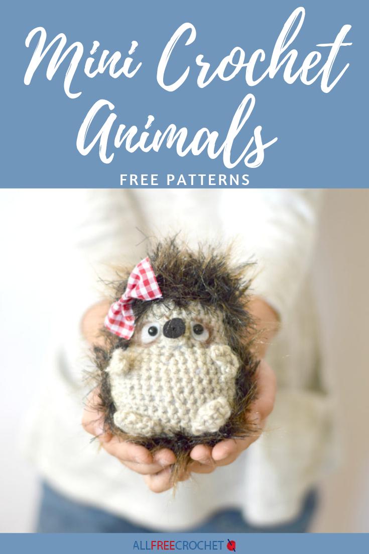 Amazon.com: Animal Amigurumi: Mini Snowy Owl Pattern, miniature ... | 1102x735