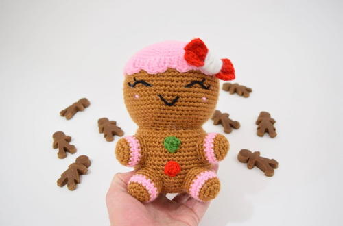 Charlie The Gingerbread Woman (Jumbo)