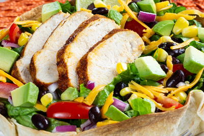 Chicken Taco Salad Bowl