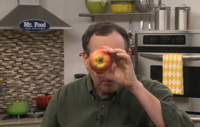 How to Use an Apple Corer Step 2