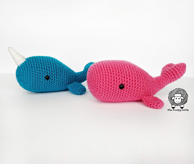 Free Crochet Narwhal Pattern Amigurumi - thefriendlyredfox.com | 1273x1500