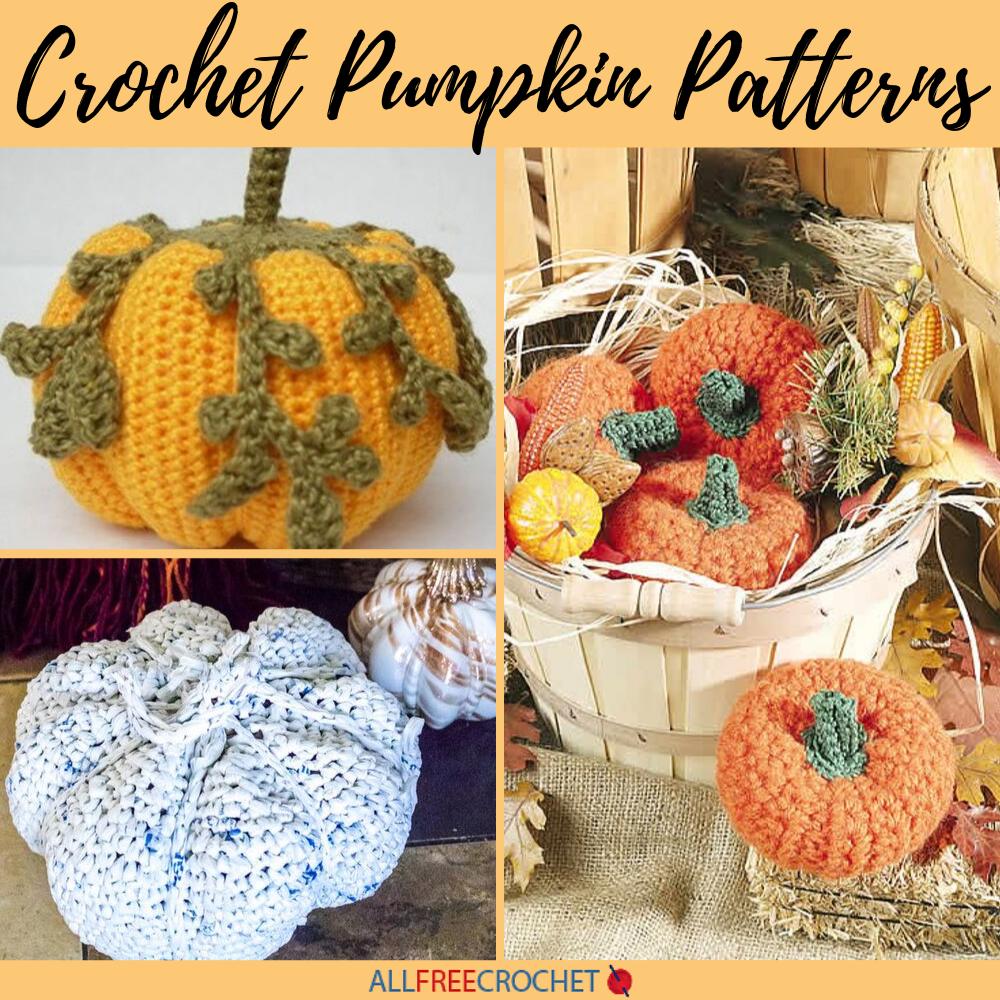 A New Free Crochet Pumpkin Pattern — Megmade with Love | 1000x1000