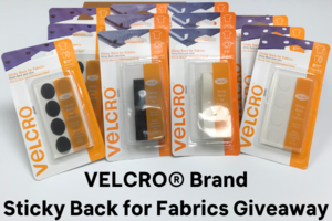 VELCRO<sup>&reg;</sup> Brand Sticky Back for Fabrics Bundle Giveaway