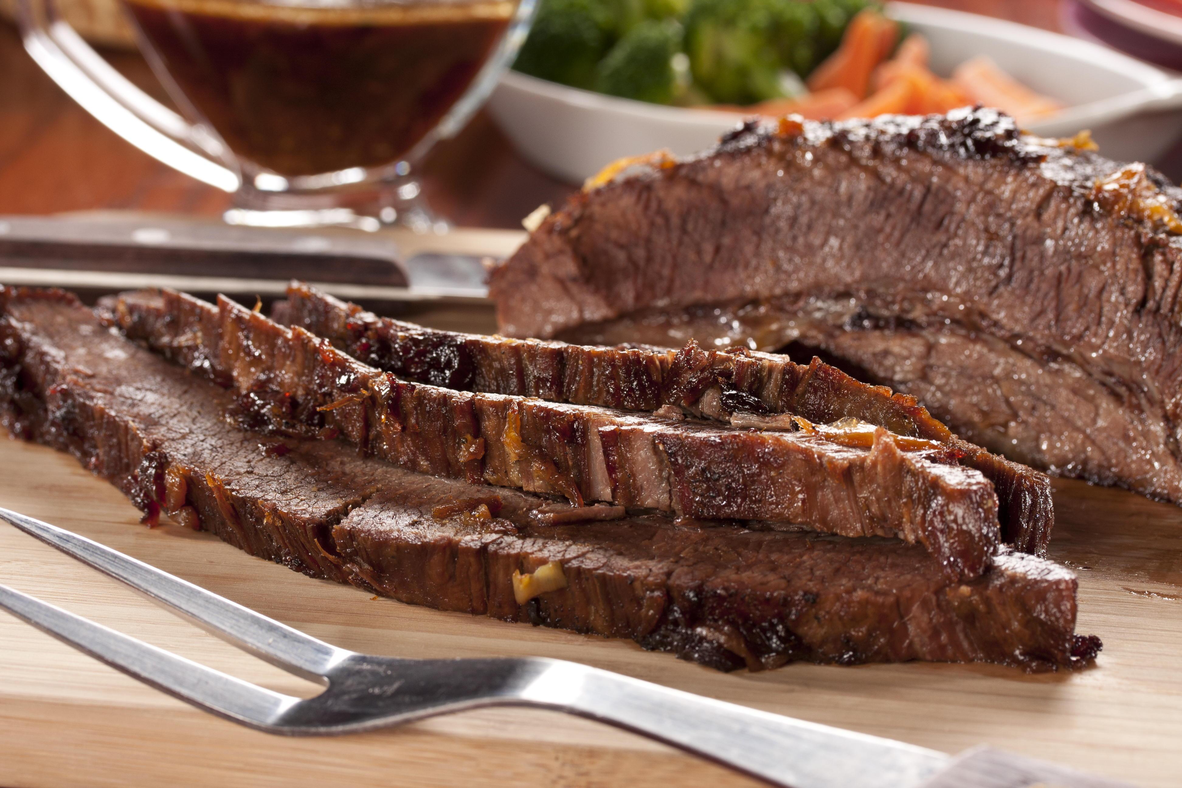 Beef Brisket With Horseradish Sauce Mrfood Com