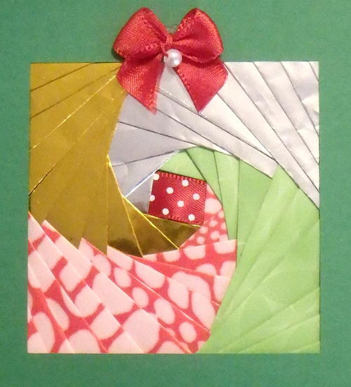 Presenting an Iris Folding Gift Package