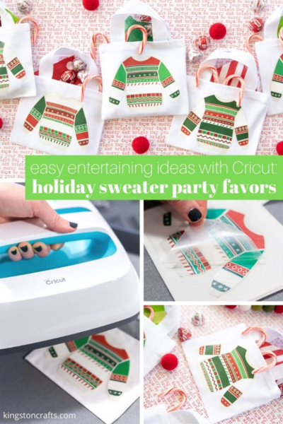 Holiday Sweater Party Favors
