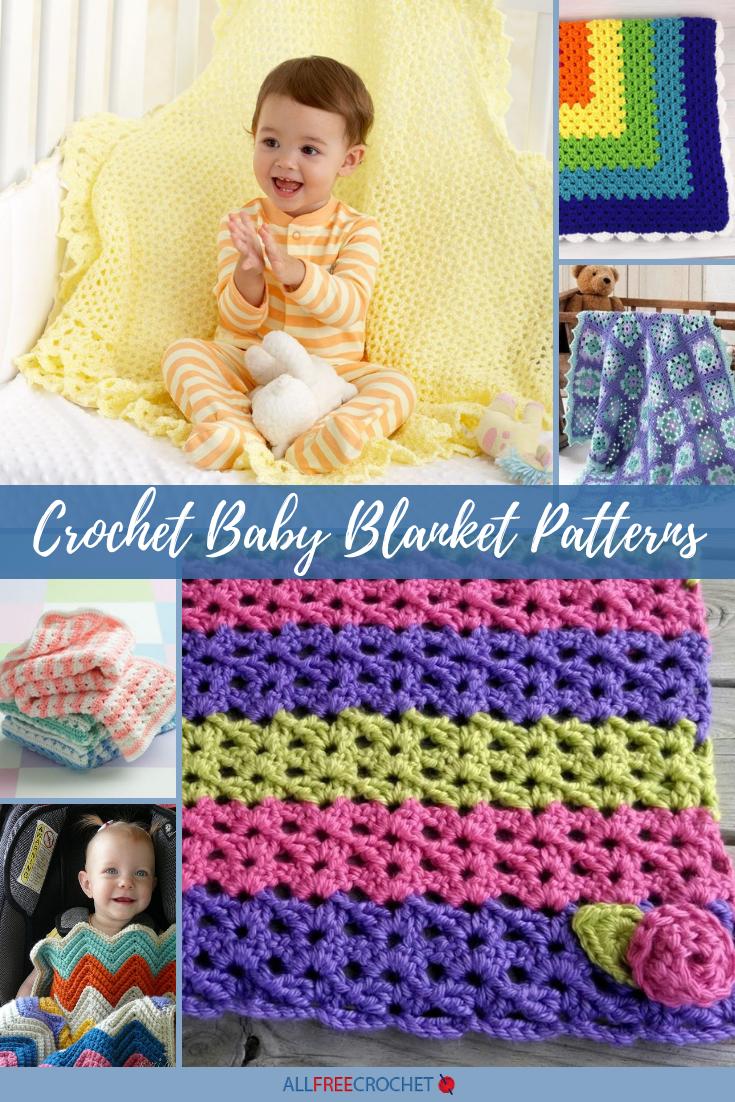 50 Crochet Baby Blanket Patterns Allfreecrochet Com