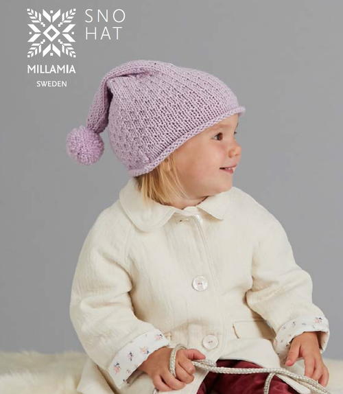 Sno Knit Baby Hat Pattern