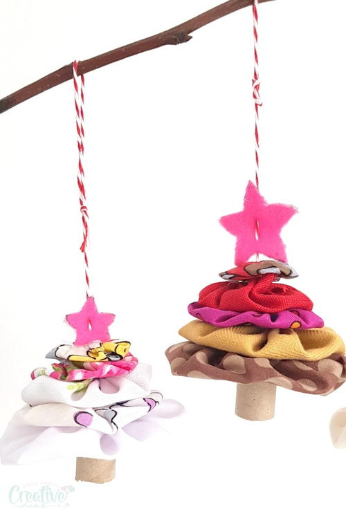Yoyo Christmas Tree Ornaments