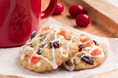 Cheerful Cranberry Orange Cookies