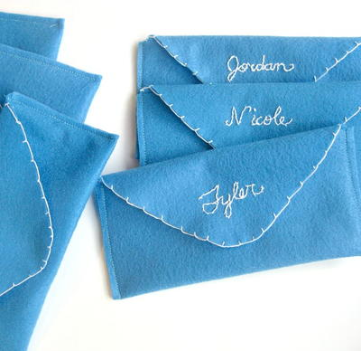 Homemade Holiday Gift Envelopes