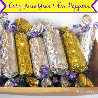 Thrifty And Easy New Year's Eve Poppers