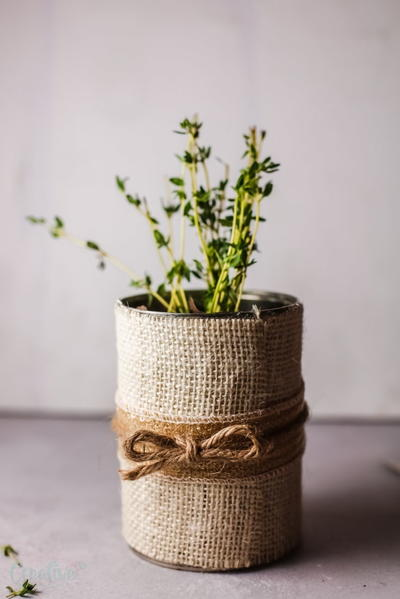 Diy Herb Pot