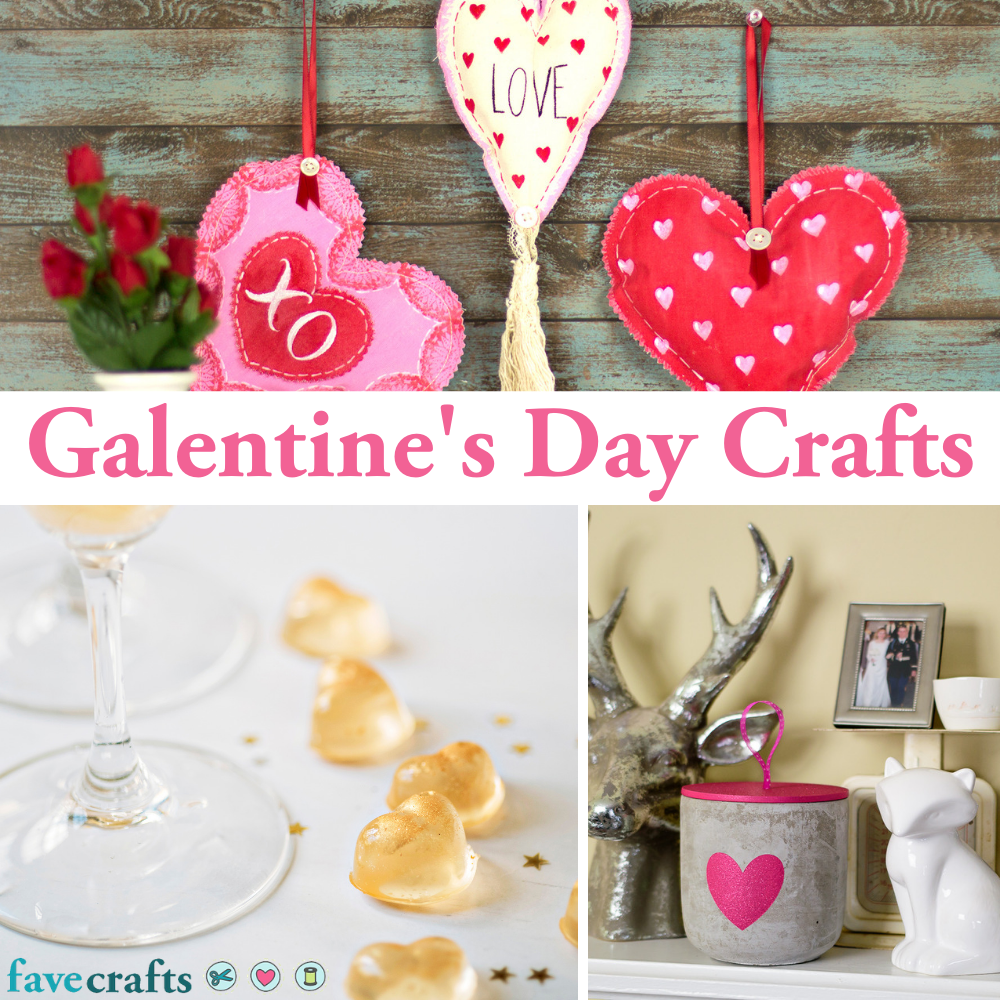 24 Galentine S Day Crafts In 2021 Favecrafts Com