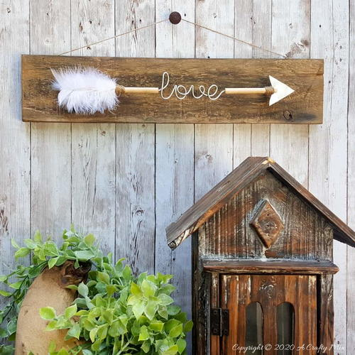 Diy Love Arrow Decor