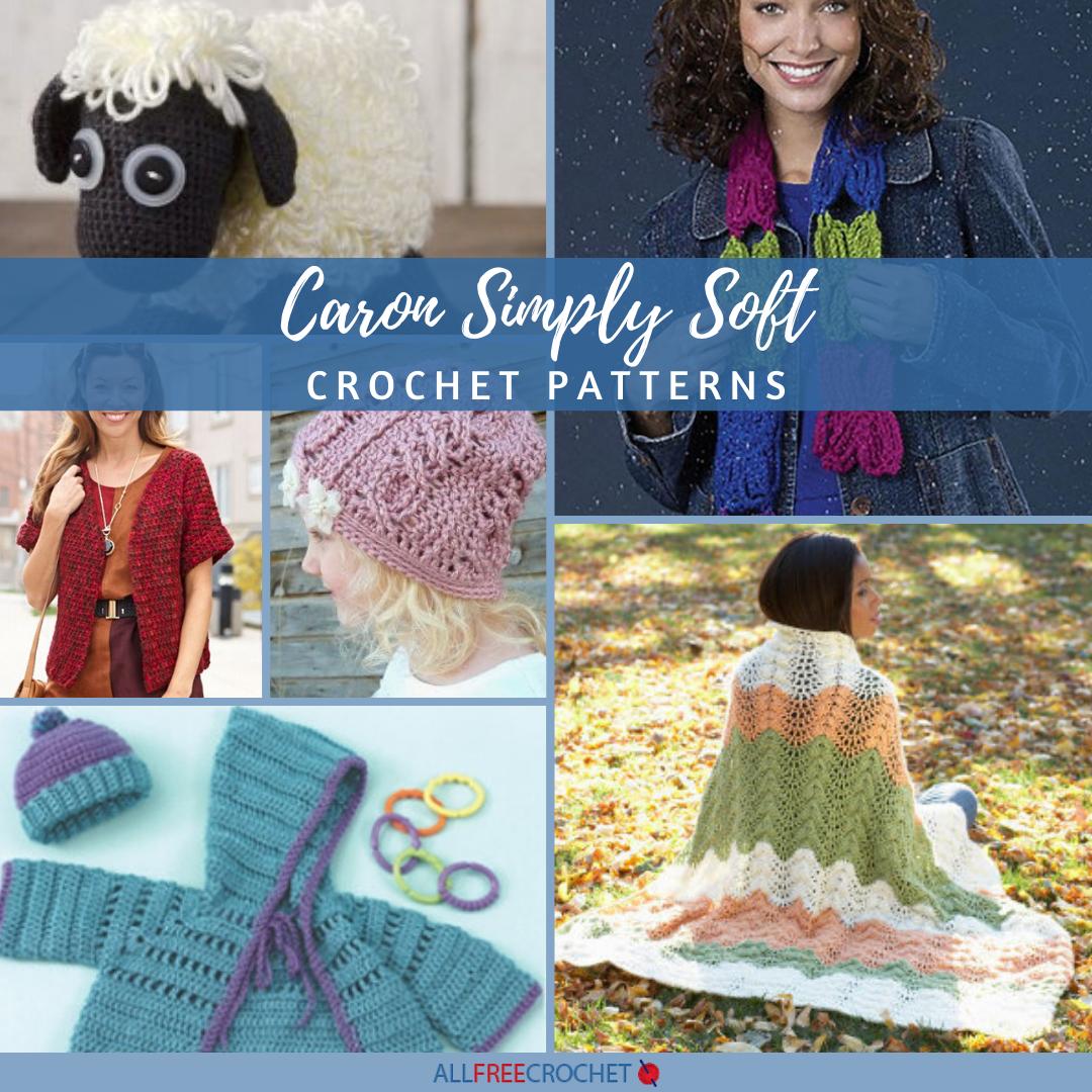 24 Caron Simply Soft Crochet Patterns 2020 Allfreecrochet Com
