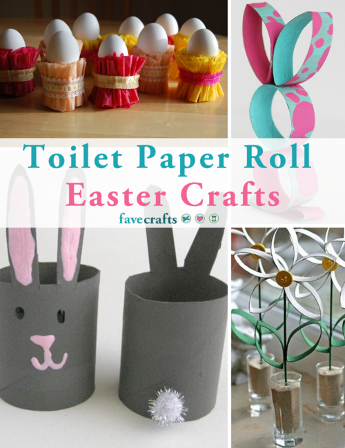Toilet Paper Roll Easter Crafts