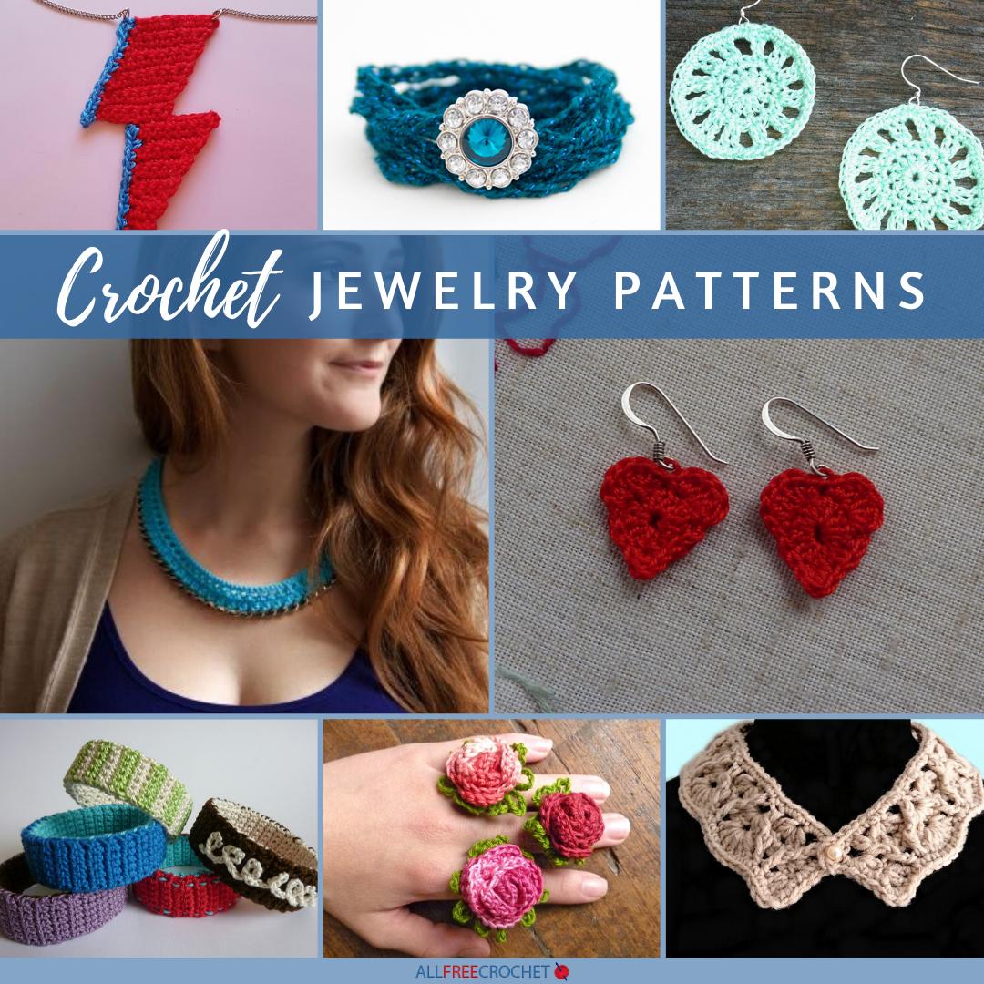 62 Crochet Jewelry Patterns Free Allfreecrochet Com