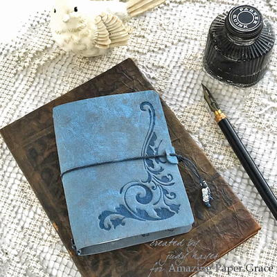 Faux Leather Mini Journal