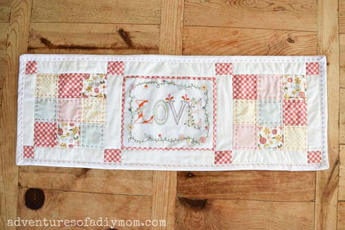 Quilted Table Runner Pattern For Spring