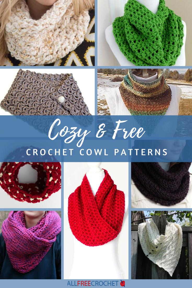 18 Cozy Free Crochet Cowl Patterns Allfreecrochet Com
