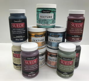 DecoArt Suede and Texture Paint Prize Pack Giveaway