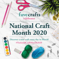 National Craft Month 2020