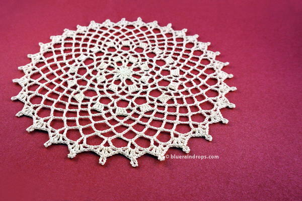 Easy Round Lace Doily