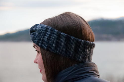 Slip Stitch Twist Headband