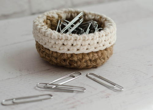Mini Jute Basket