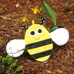 Crinkle Bee Baby Toy