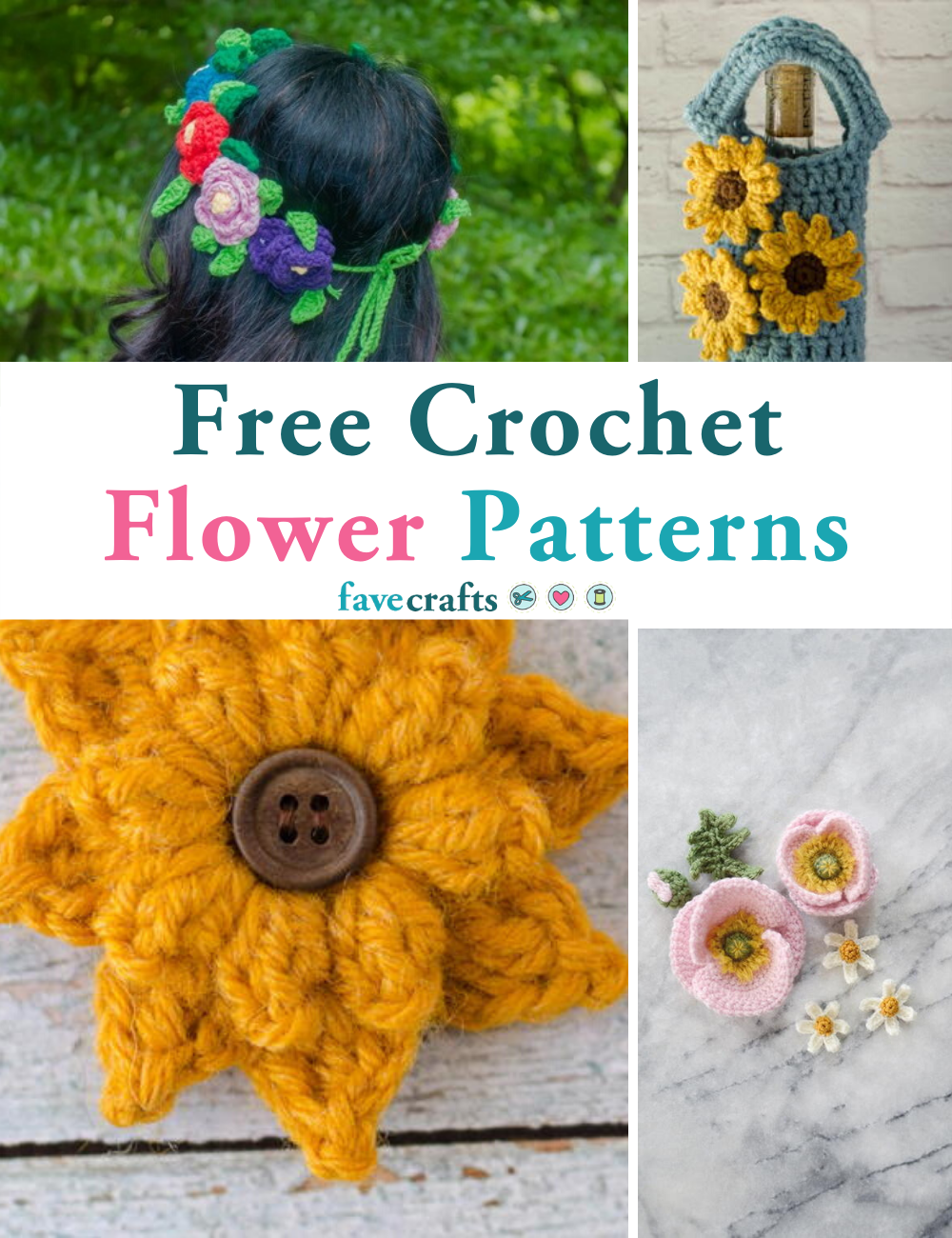 Free Crochet Patterns and Designs by LisaAuch: How to Crochet a ... | 1300x1000