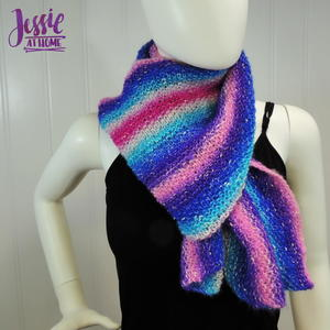 Striped Cake Scarf