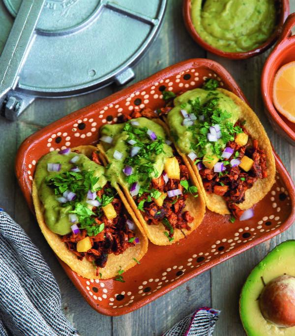 Tacos de Yaca Al Pastor