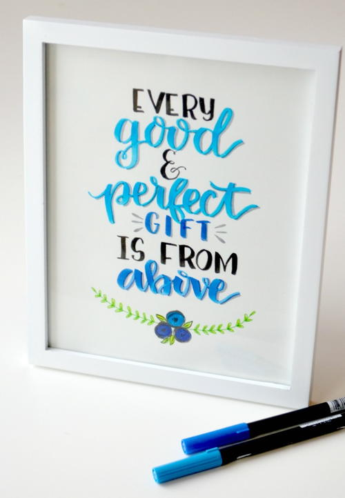 Every Good and Perfect Gift Is From Above Wall Art