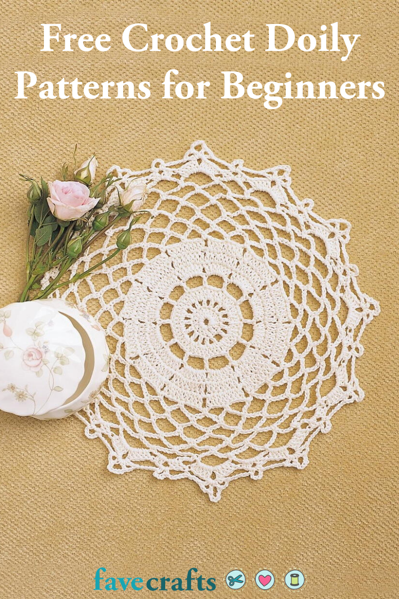 24 Free Crochet Doily Patterns For Beginners Favecrafts Com