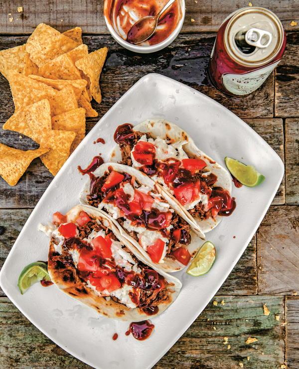 BBQ Beef Tacos